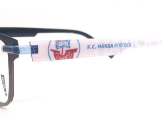 F.C. Hansa Rostock Brille – Switch-it Garnitur FANKomplett