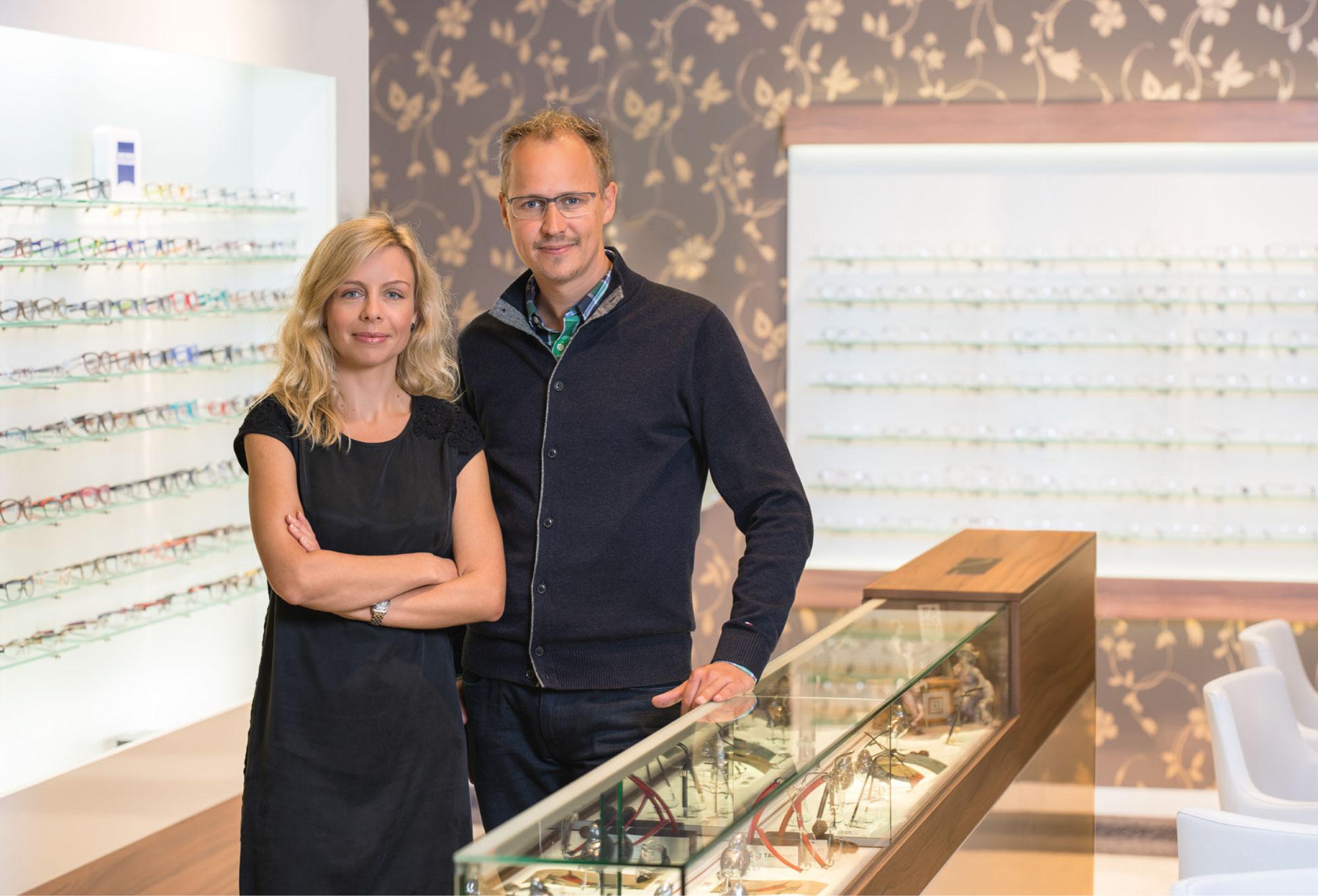 Ehepaar Katrin und Matthias Sagawe im Doberaner Hof