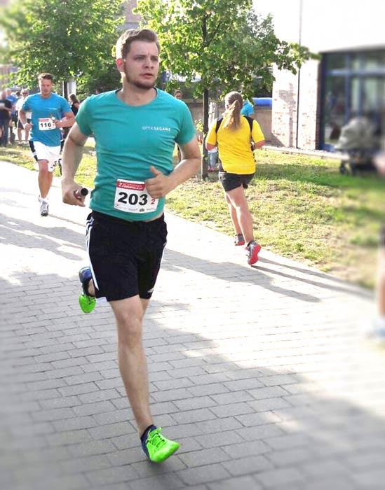 Kontaktlinsen beim Sport Laufen