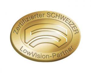 Optik Sagawe ist zertifizierter Schweizer Low Vision Gold Partner in Rostock