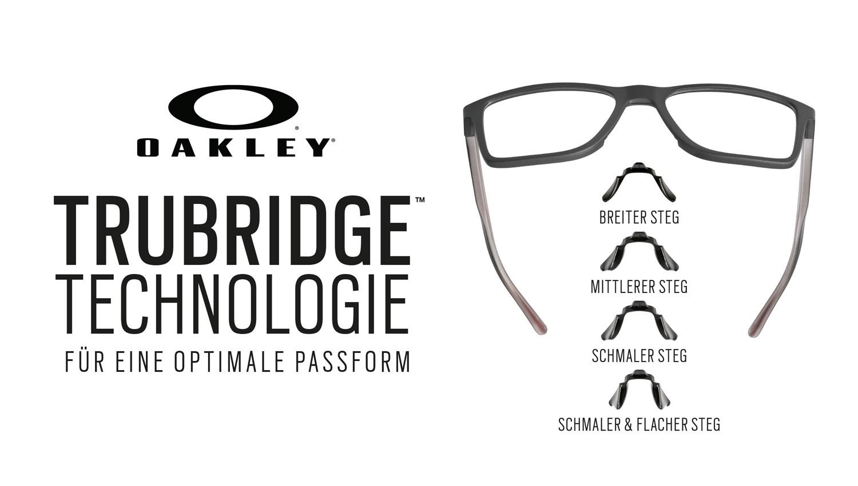 Die Oakley Trubridge Technologie - Eine individuelle Passform für jedes Gesicht