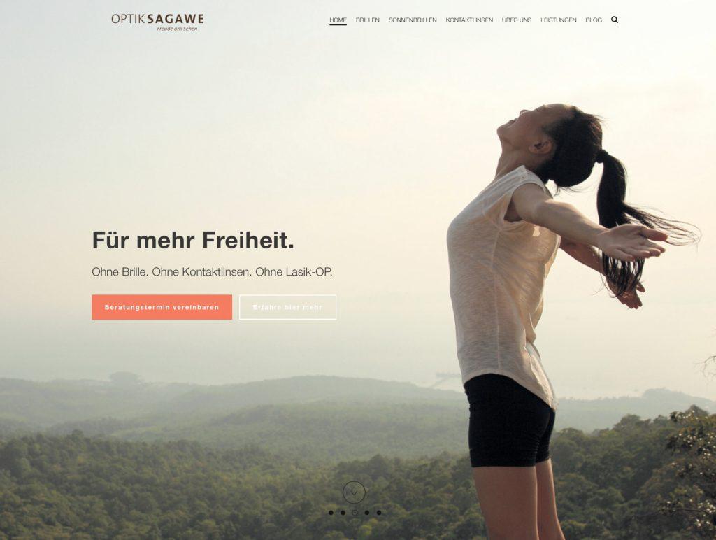 Unsere neue Website www.sagawe.de ist im neuem Gewand online!