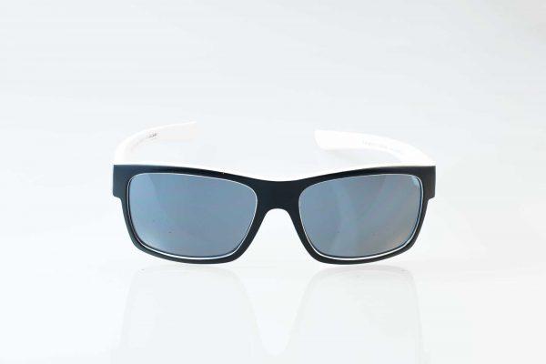 Die offizielle F.C. Hansa Rostock Sonnenbrille - schwarz-weiss von Optik Sagawe.