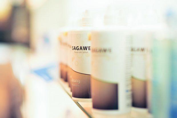 Die Optik Sagawe Pflegemittelserie für Ihre Kontaktlinsen