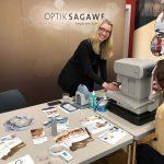Optik Sagawe aus Rostock mit dabei bei der Messe fit & gesund der Ostsee Zeitung im OZ-Medienhaus - kostenloser Computer-Sehtest