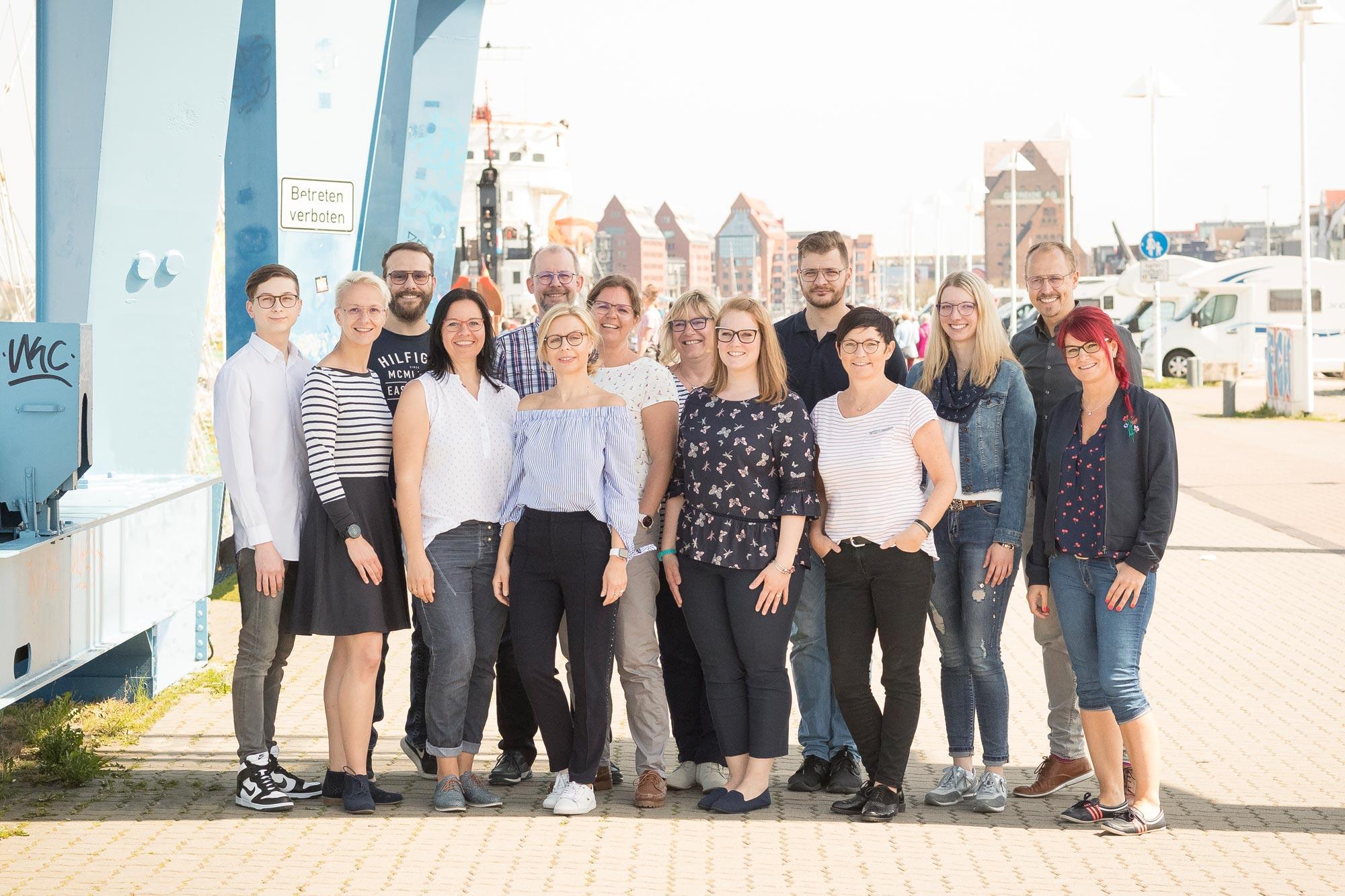 Unser Team - Das sind wir von Optik Sagawe aus Rostock