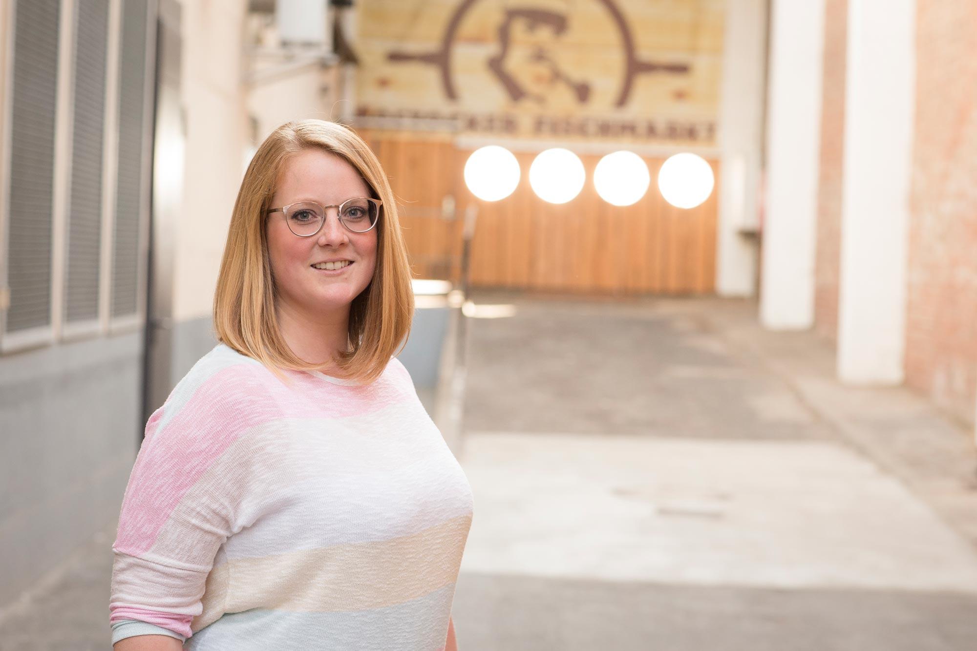 Michaela Greve ist Augenoptikermeisterin bei Optik Sagawe im Doberaner Hof