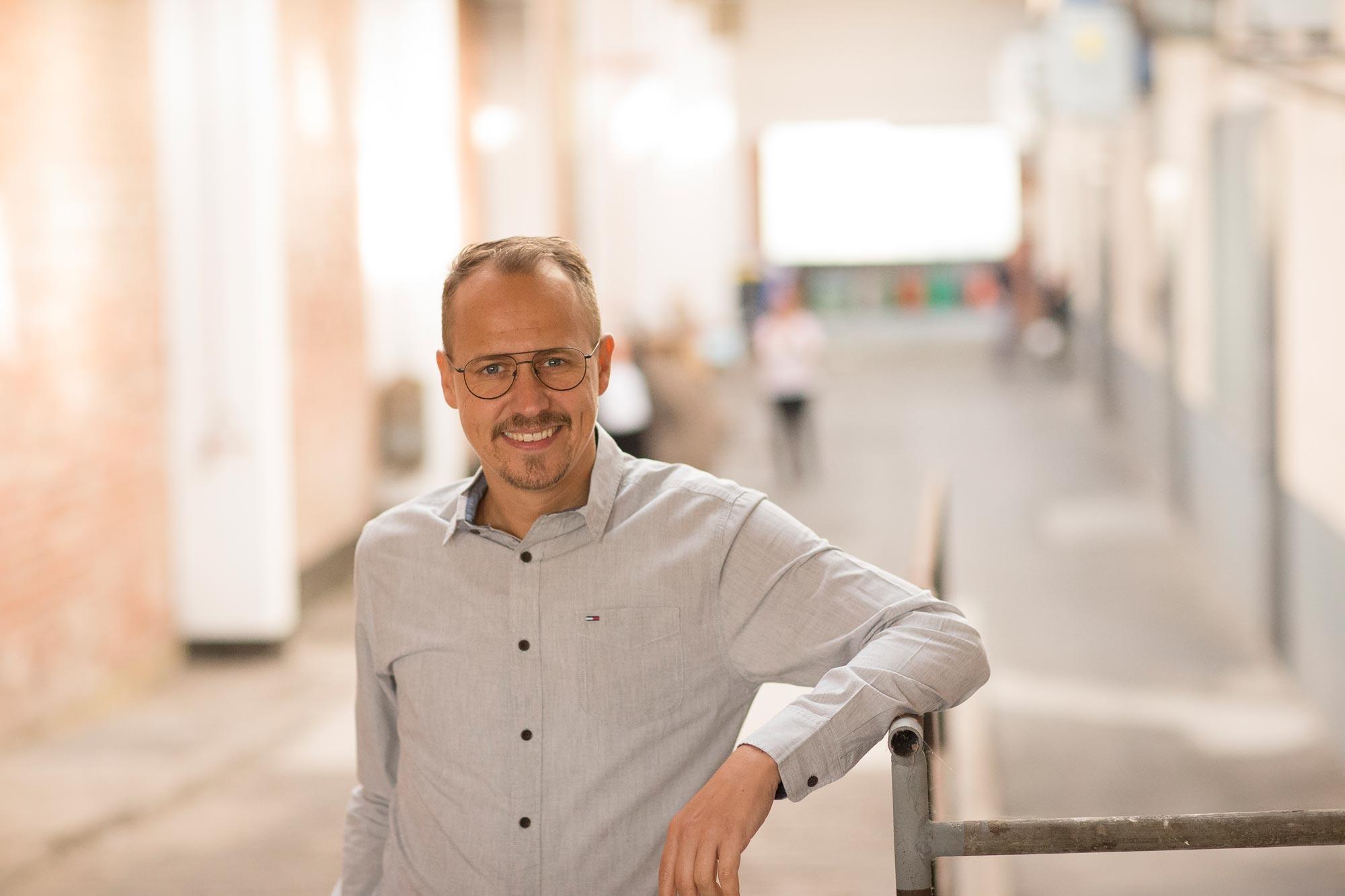 Matthias Sagawe ist Inhaber und Augenoptikermeister von Optik Sagawe