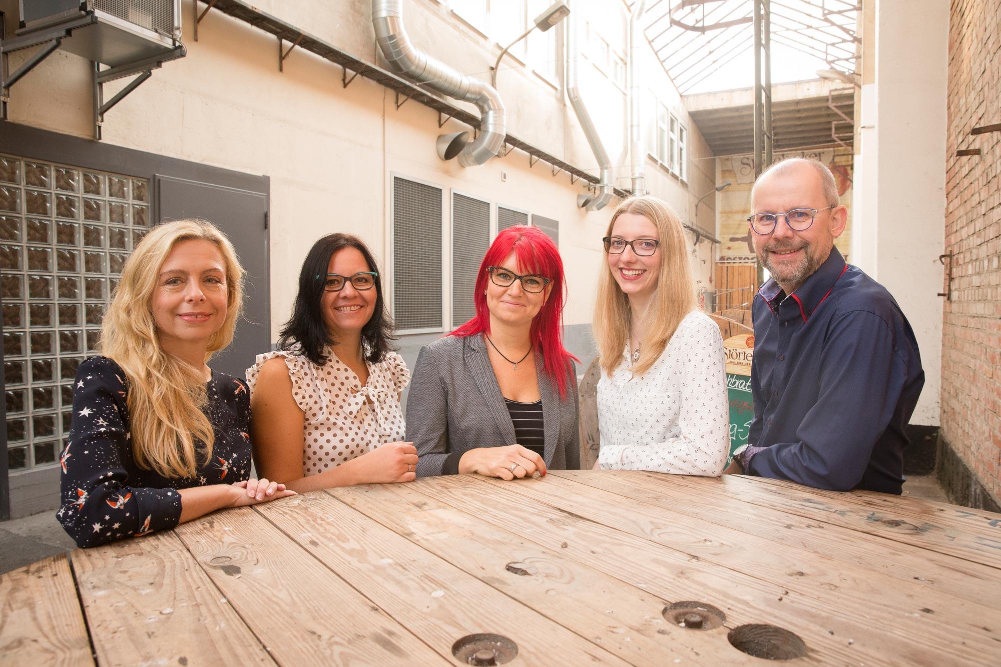 Das Team von Optik Sagawe in Reutershagen