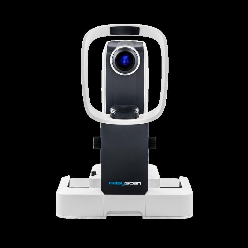 Testen Sie die Gesundheit Ihrer Augen mit dem EasyScan. Der Netzhautuntersuchung bei Optik Sagawe.