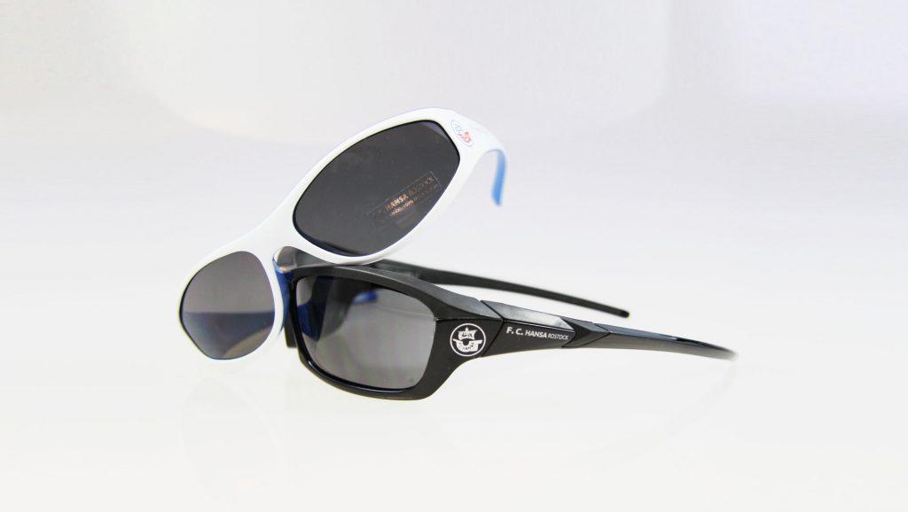 Die F.C. Hansa Rostock Sonnenbrille exklusiv bei Optik Sagawe