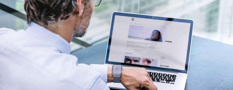 Digitaler Sehstress – die neue Volksbeschwerde. Wir machen das digitale Sehen angenehmer. Mit Zeiss Digital life Brillengläsern von Optik Sagawe.